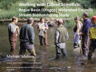 Working with Citizen Scientists: