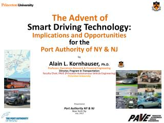 The Advent of  Smart  Driving  Technology: Implications and Opportunities  for the