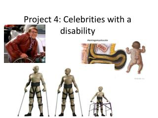 Project 4: Celebrities with a disability