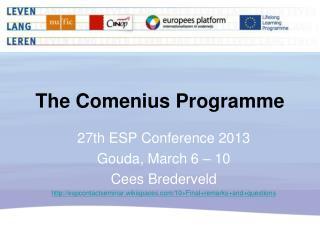 The Comenius  Programme