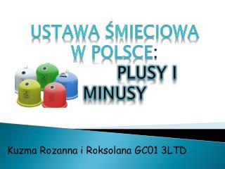 Kuzma Rozanna i Roksolana GC0 1 3 LTD