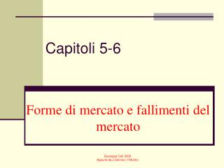 Capitoli 5-6