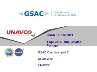 GSAC / EPOS 2014 1 Apr 2014,  UBI ,  Covilhã , Portugal