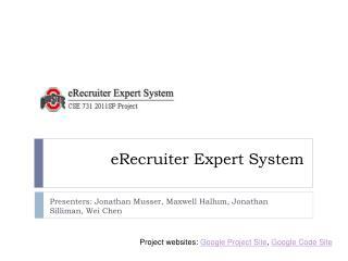 eRecruiter  Expert System