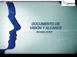DOCUMENTO DE VISIÓN Y ALCANCE
