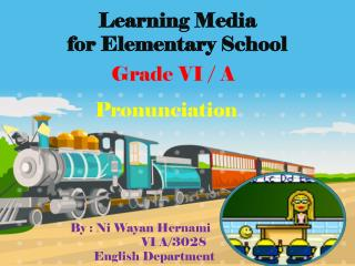Learning Media  for Elementary School