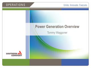 Power Generation  Overview