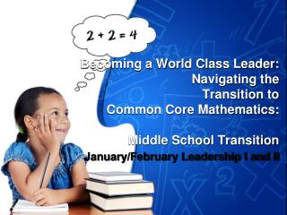 January/February Leadership I and II