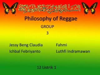 P hilosophy of Reggae