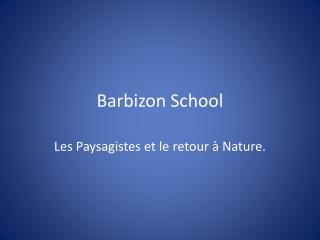 Barbizon School