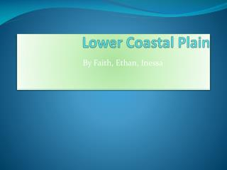 Lower Coastal Plain