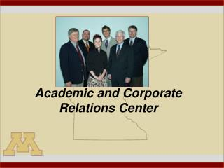 Academic and Corporate Relations Center