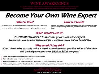 Become Your Own Wine Expert