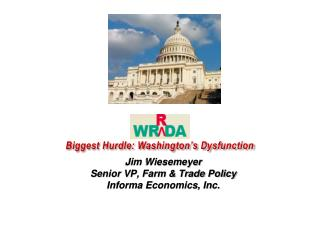 WRRDA Biggest Hurdle: Washington's Dysfunction