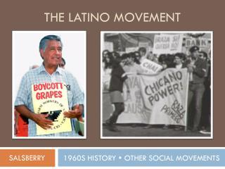 the  LATINO movement