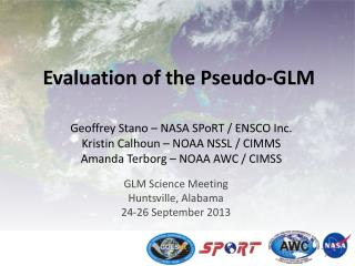 Evaluation of the Pseudo-GLM
