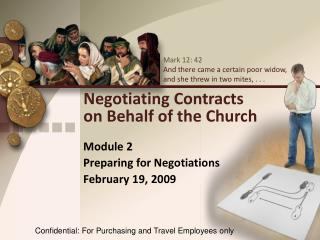 Negotiating Contracts  on Behalf of the Church