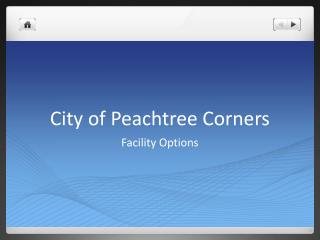 City of Peachtree Corners