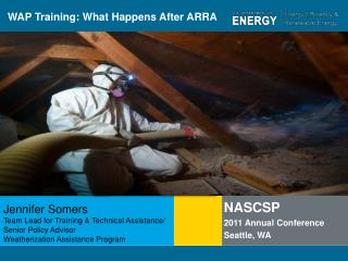 WAP Training: What Happens After ARRA