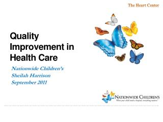 Quality Improvement in Health Care