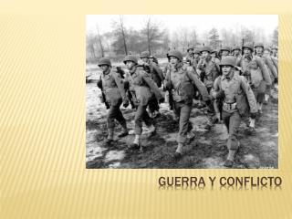 Guerra y conflicto