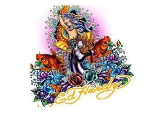 Fashion Caricature of Ed Hardy