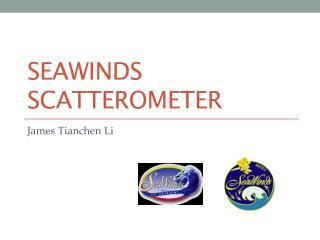 SeaWinds Scatterometer