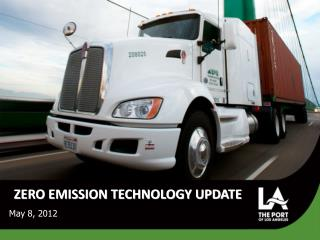 ZERO EMISSION TECHNOLOGY UPDATE
