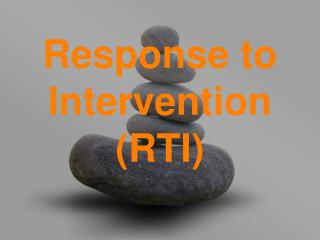 Response to Intervention RTI