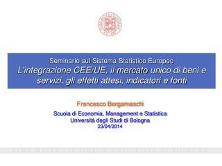 Francesco Bergamaschi Scuola di Economia, Management e Statistica