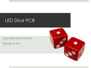 LED Dice PCB