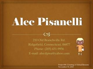 Alec  Pisanelli