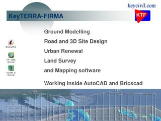 Ground Modelling Road and 3D Site Design Urban Renewal Land Survey and Mapping software  Working inside AutoCAD and Bric