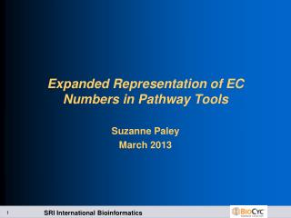 Expanded Representation of EC Numbers in Pathway Tools
