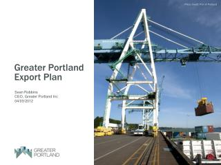 Greater Portland Export Plan