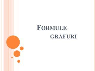 Formule grafuri