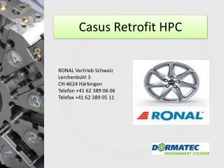 Casus  Retrofit  HPC