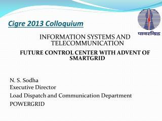 Cigre  2013 Colloquium