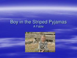 Boy in the Striped Pyjamas A Fable