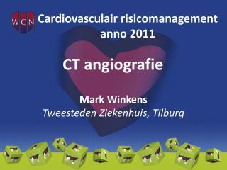 CT  angiografie