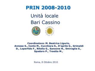 PRIN 2008-2010