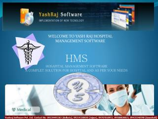 HMS HOSAPITAL MANAGEMENT SOFTWARE A COMPLET SOLUTION FOR HOSPITAL AND AS PER YOUR NEEDS