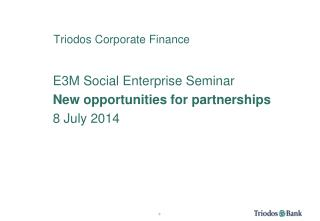 Triodos Corporate Finance