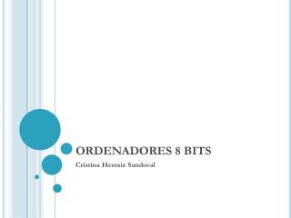 ORDENADORES 8 BITS