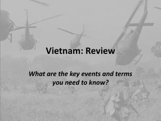 Vietnam: Review