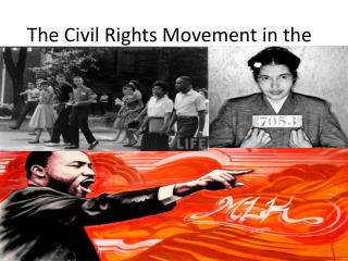 The Civil Rights Movement in the 1950s