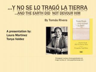 …y no se lo  tragÓ  la  tierra …And the earth did  not devour him