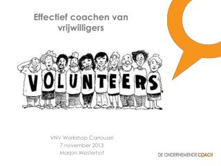 Effectief coachen van vrijwilligers
