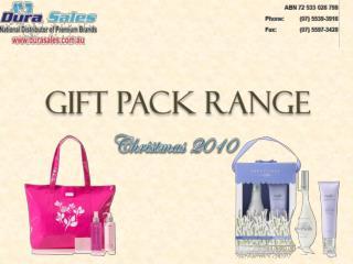 Gift Pack Range