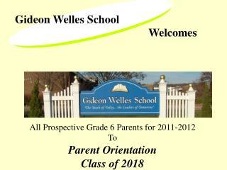 Gideon Welles School